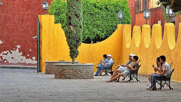 People in San Miguel de Allende. CC Image by Carl Campbell