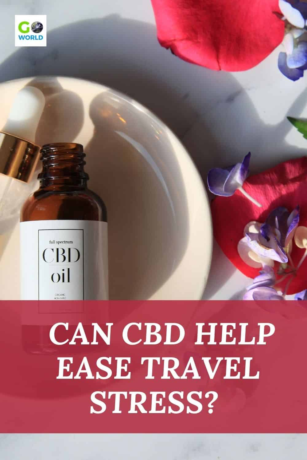 Thinking of travel with CBD to alleviate stress? This article looks at how CBD may help ease anxiety & how you may be able to travel with it. #travelstress #CBDfortravel #CBDforanxiety