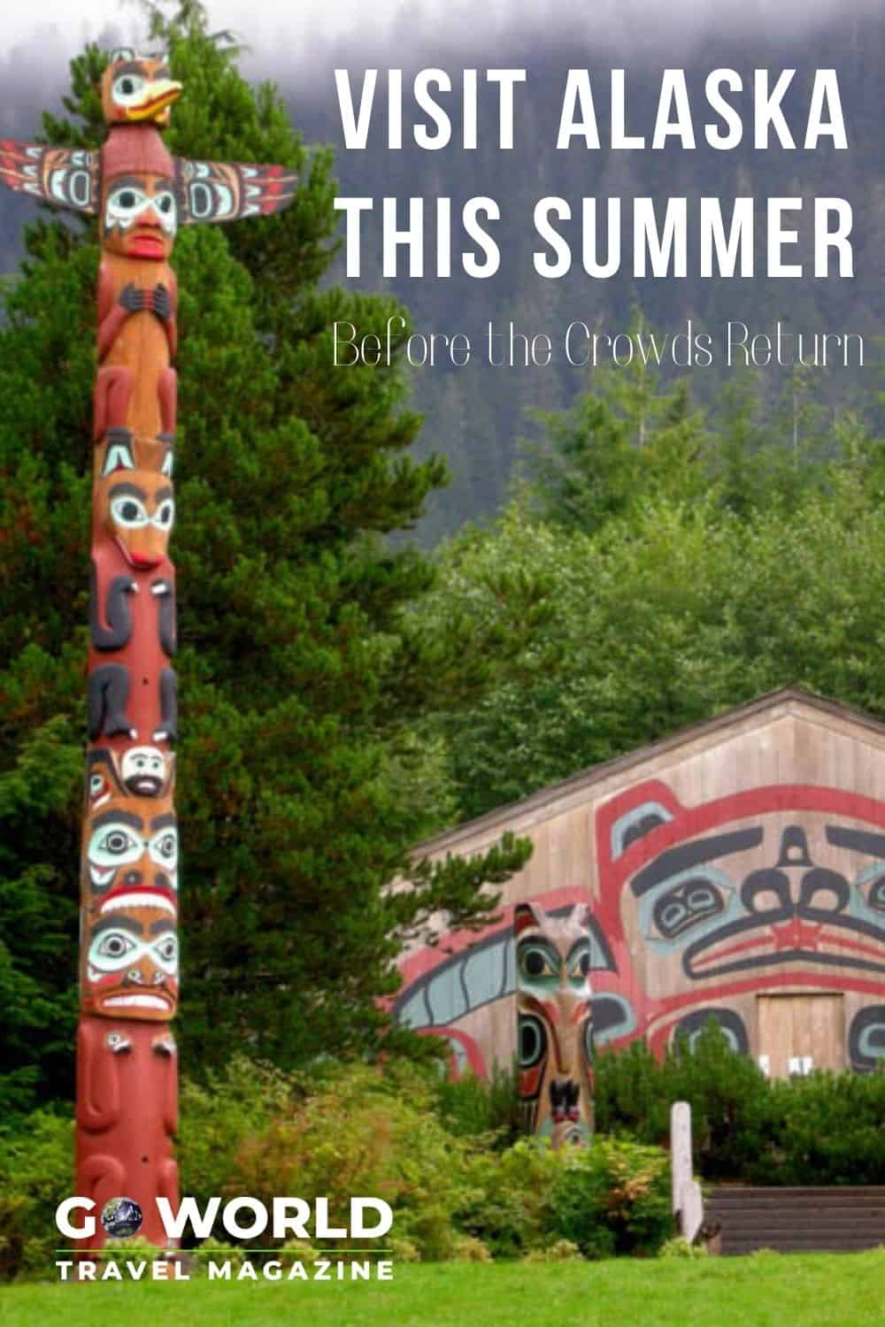 Summer in Alaska is beautiful & this year there will be far fewer people until the cruise ships start again. Now's the time to go to Alaska!