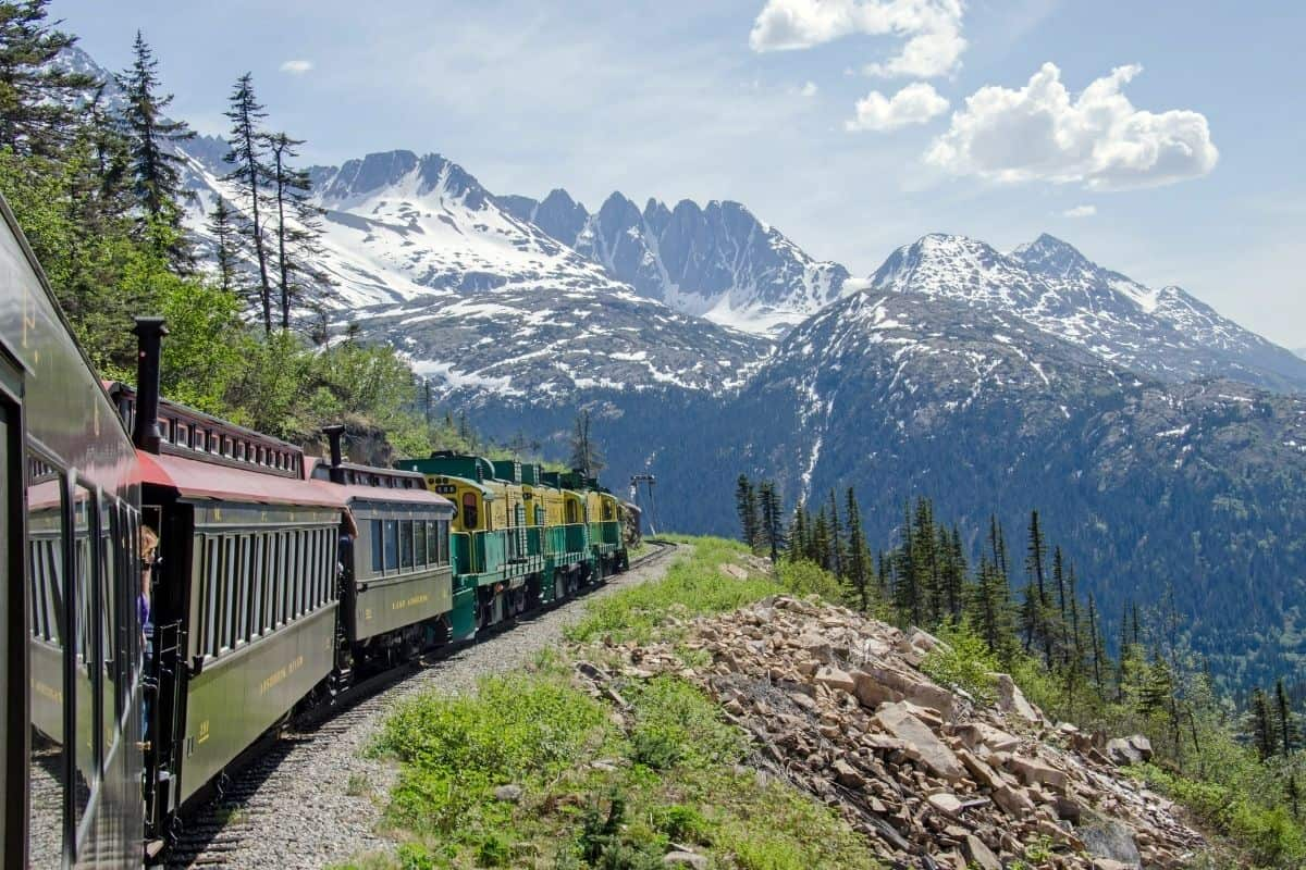 Travel the White Pass and Yukon Route Back to the Days of the Gold Rush