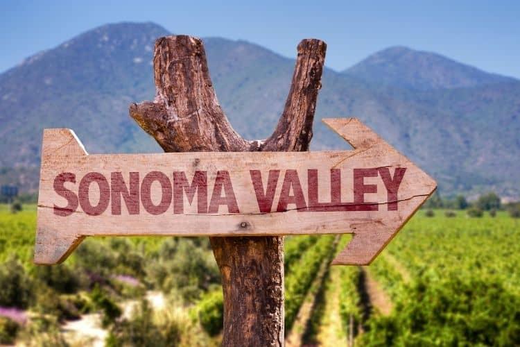 Sonoma Valley California Wine Region