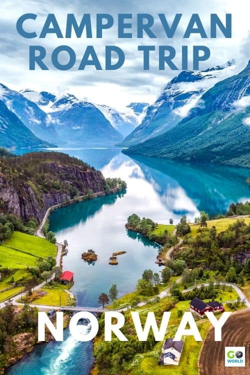 Renting a campervan for a road trip in Norway is a great way to explore this beautiful country while traveling in comfort and saving money. #Roadtrip #Norwaytravel #Campervanroadtrip #Norwayroadtrip #Vacationinnorway