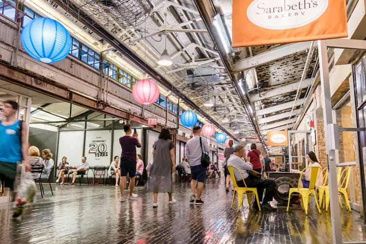 Inside Chelsea Market