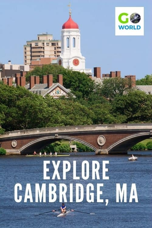 Visiting Harvard University is one of the top things to do in Cambridge, MA but don't miss the other historic sites, museums & lively squares. #CambridgeMA #Harvarduniversity #TravelMassachusetts #VisitCambridge,MA