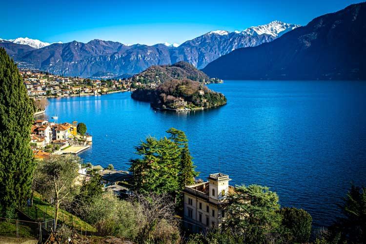 Overlooking Lake Como