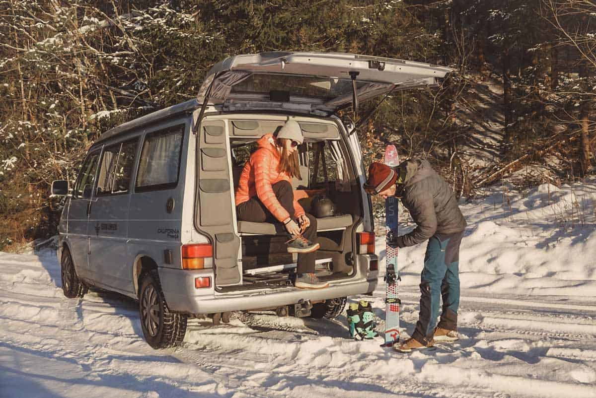 A campervan road trip in Norway is a great way to explore the country
