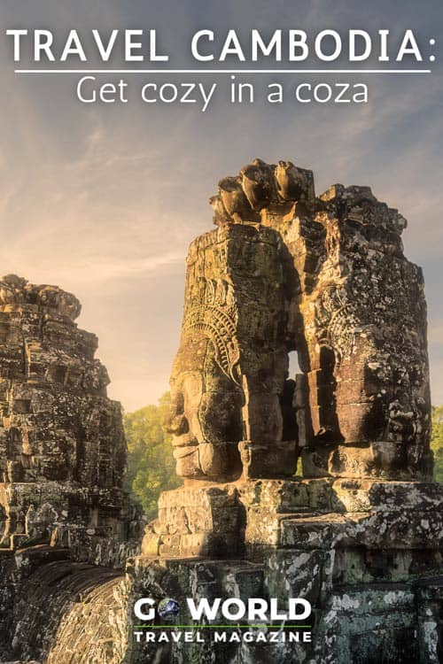 Siem Reap, Cambodia, has just about everything, including the famous Angkor Wat temple site. However, being under the sun all day can wear you down, so be sure to find yourself a coza.