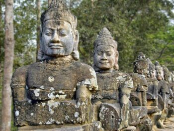 Travel to Cambodia and see Siem Reap.