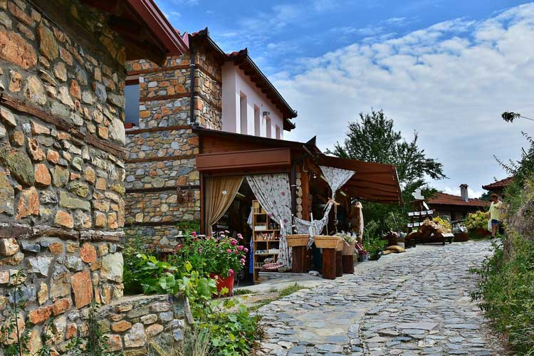 Village life in Olympus