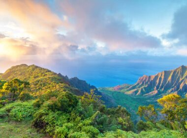 Travel to Kauai island of Hawaii