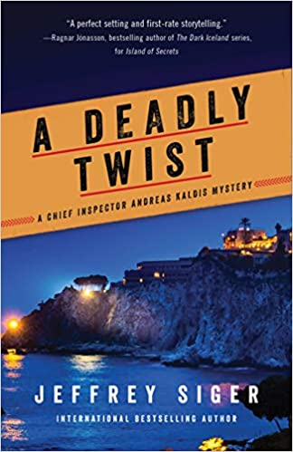 A Deadly Twist by Jeffrey Siger Book Cover
