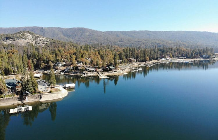 Bass Lake is one of many inviting attractions in Madera County, California. Photo by Hafakot/Dreamstime.com