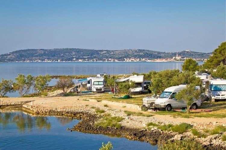 Camping in Criatia