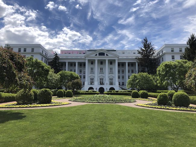 The Greenbrier Resort, since 1778. Photo by Claudia Carbone