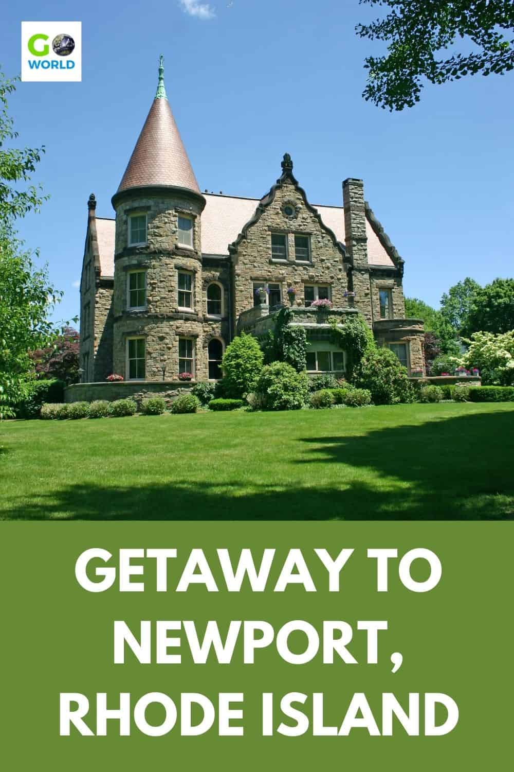 The charming town of Newport makes a perfect getaway in Rhode Island. You'll find historic mansions, the scenic Cliff Walk & lots of lobster. #RhodeIsland #NewportRI