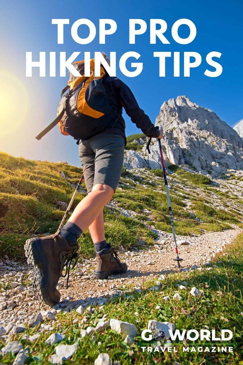 Don't miss these essential pro hiking tips from Ed Viesturs, the only American to have climbed all 14 of the world's 8,000+ meter peaks! #hikingtips #hikinginjuries #hikingequipment #hikingessentials
