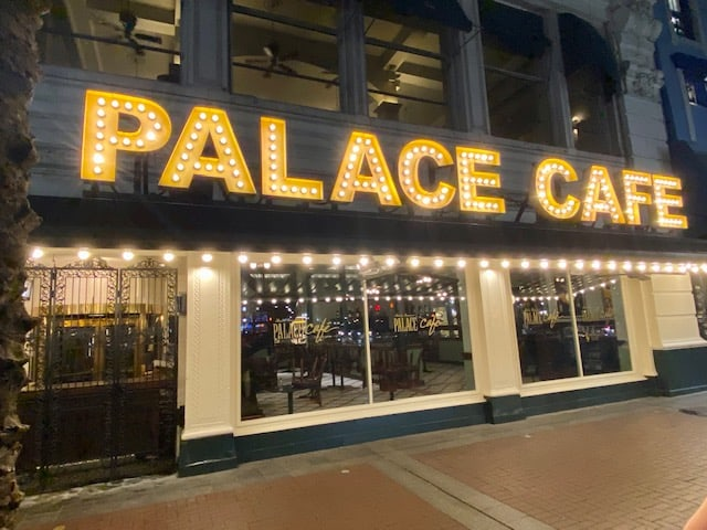 Palace Cafe New Orleans