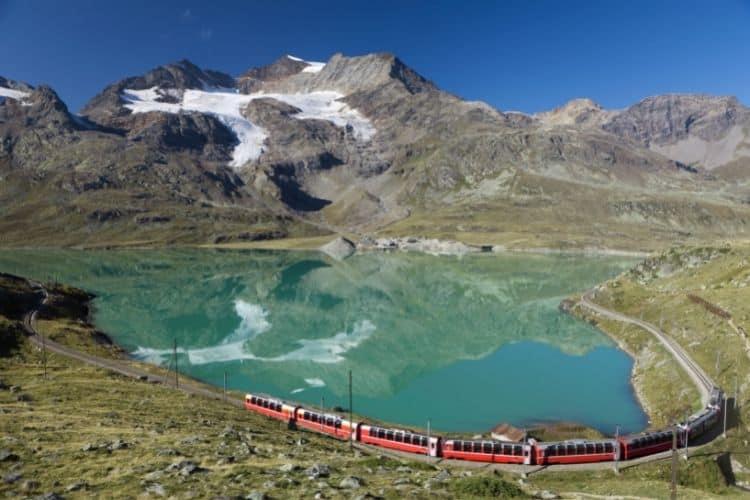 Interrail in Europe by train