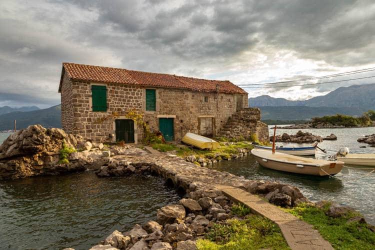 Bjelila Bay of Kotor