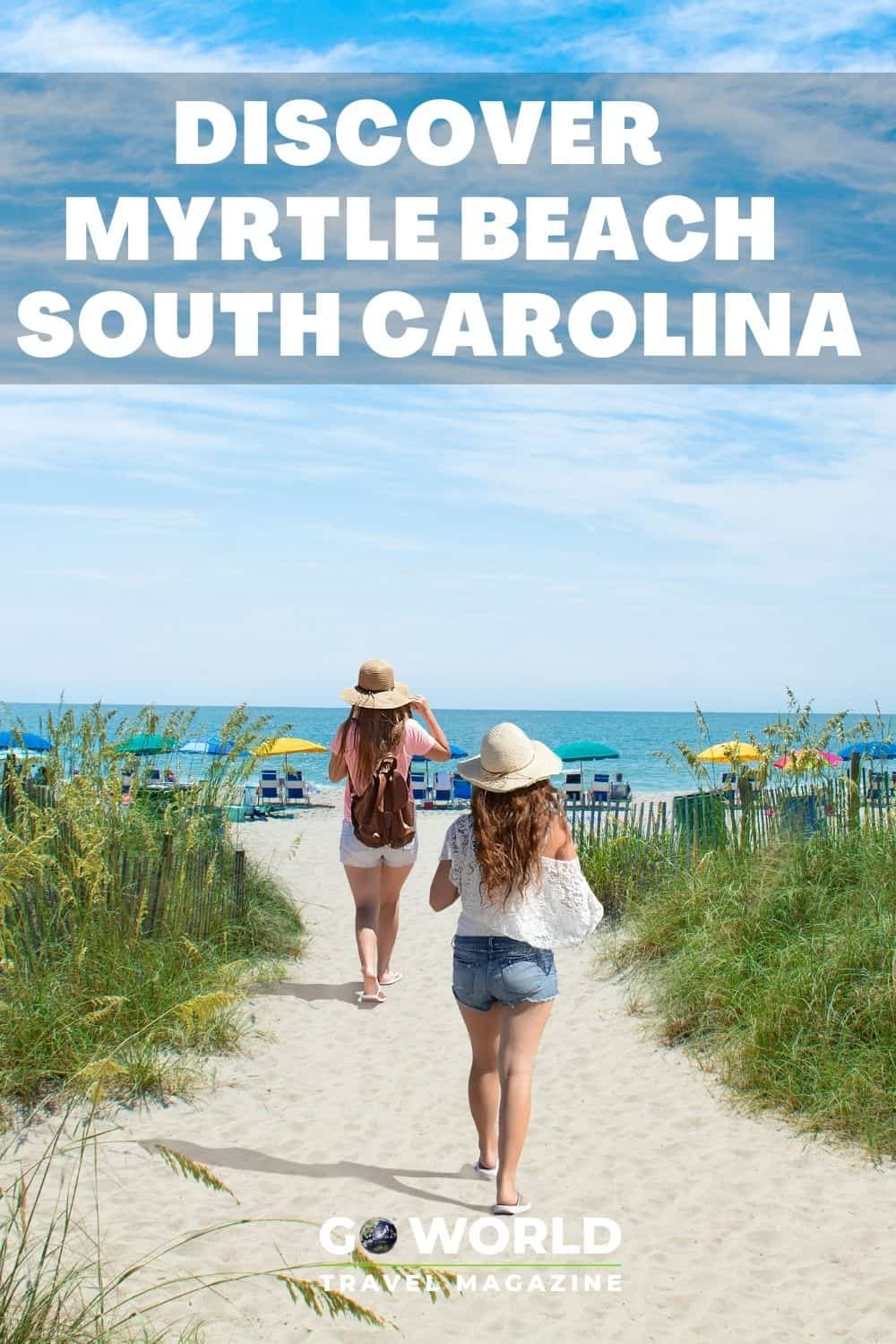 Headed to the beach this summer? Myrtle Beach, South Carolina is one of America's top beach destinations. Here's why. #Myrtlebeachvacation #myrtlebeachsouthcarolina #usabeachvacation