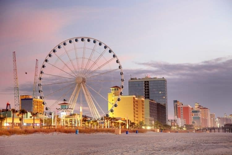 Myrtle Beach South Carolina Strand Wheel