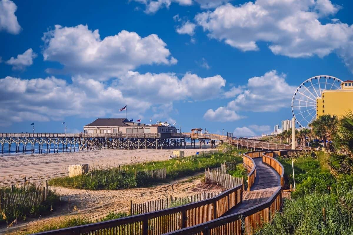 Vacation on the Shore in Myrtle Beach, South Carolina