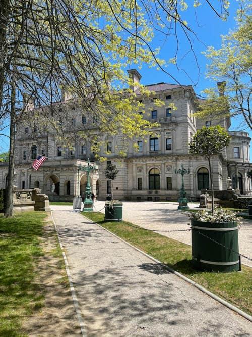 The Breakers Mansion in Newport Rhode Island