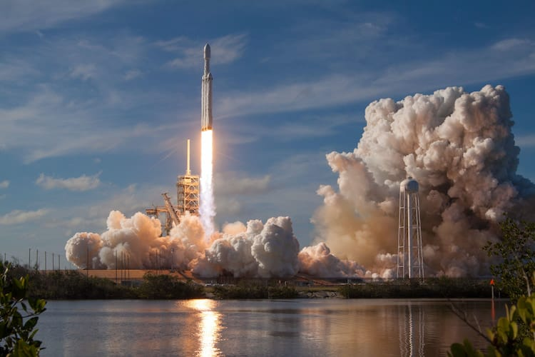 5 Reasons to Visit the Kennedy Space Center: Rocket Launch Courtesy of SpaceX #Rocketlaunch #SpaceX #Exploration #Space