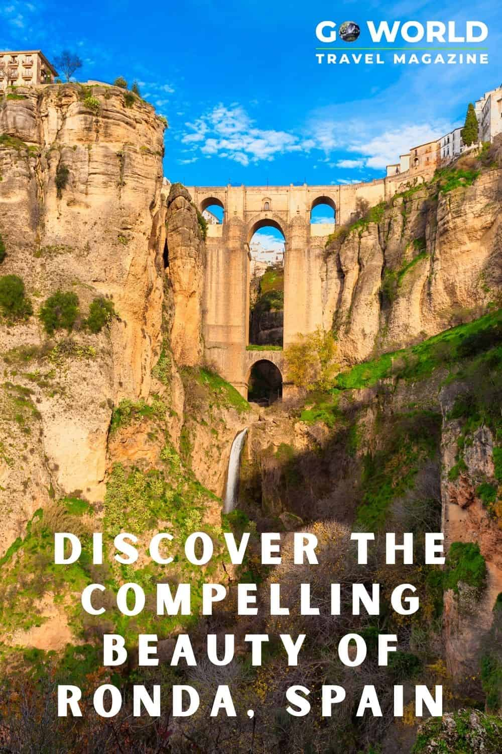 A tale of Ronda, Spain is not complete without bull rings, ghosts and Orson Welles. Ronda will steal your heart and insist on your return. #TravelSpain #RondaSpain