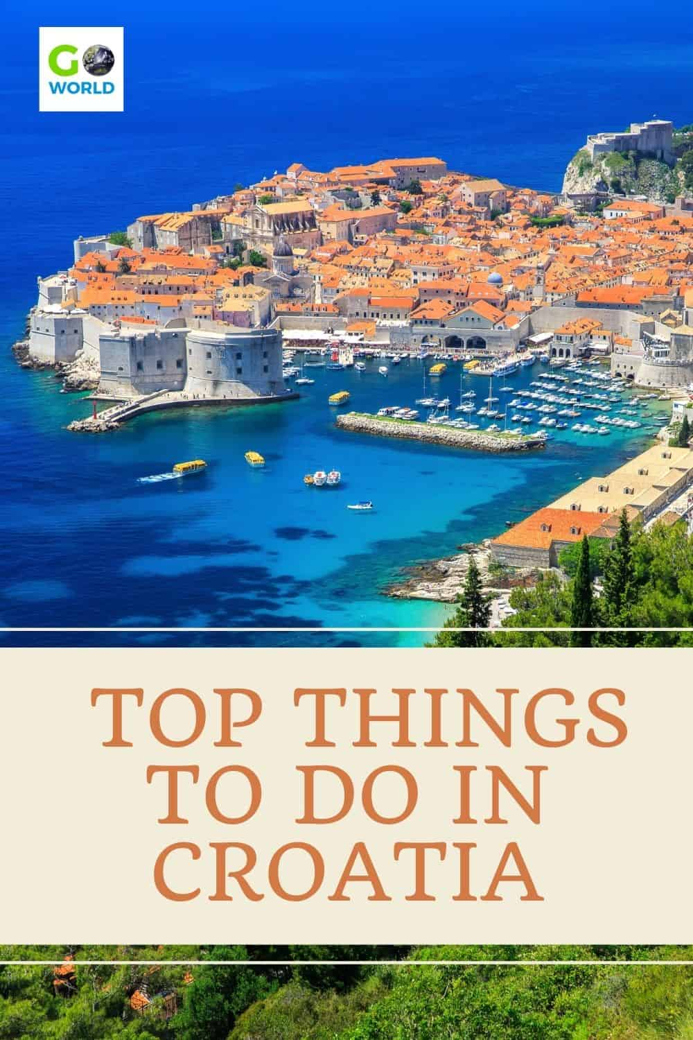 Looking for the top things to do in Croatia? Charming towns, walled cities, stunning coastline and cascading waterfalls are just a few ideas. #CroatiaTravel #thingstodoinCroatia #Europetravel