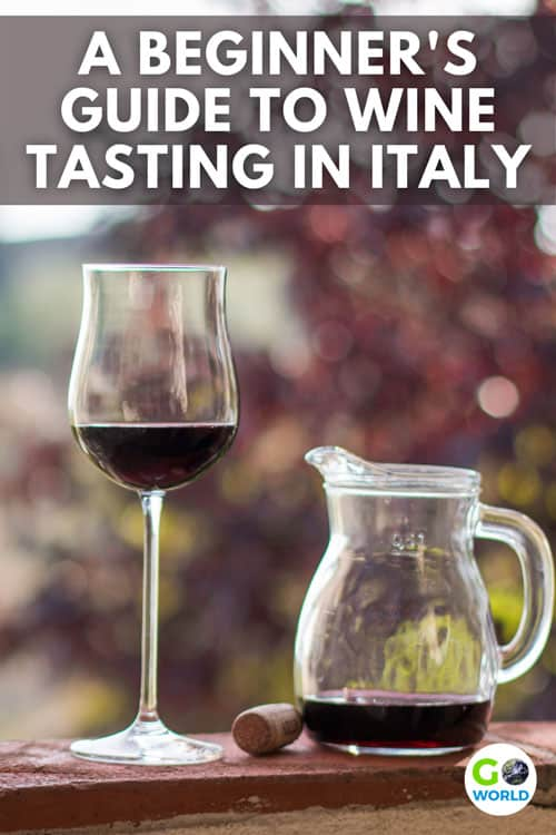 Italian wine country is not only breath-taking, it is also the best place to learn about different vineyards and wines.