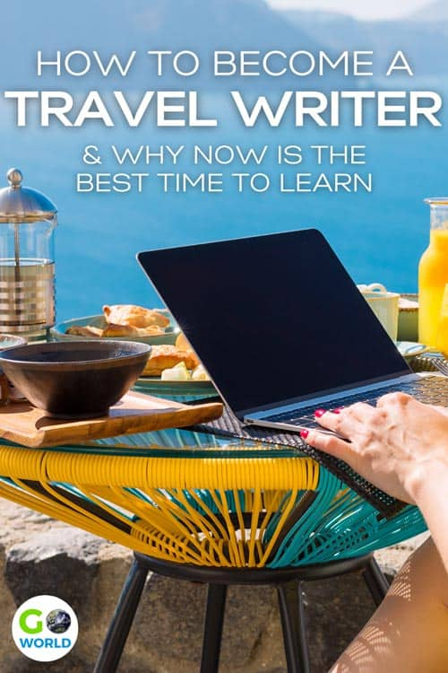Travel Writing: Ever wanted to become a travel writer and travel the world? This online travel writing class may be the perfect chance to do that. #travelwriting #traveltheworld #writingtips #writer #writing #travel