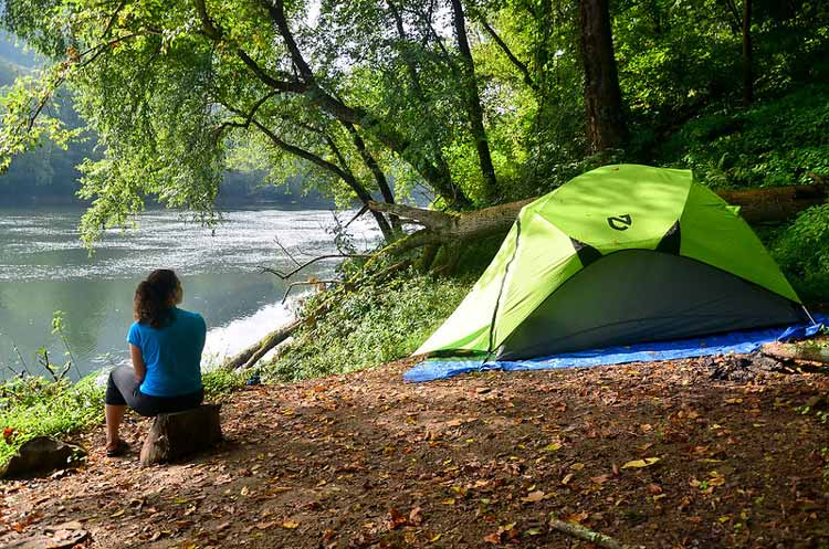 Camping at New River Gorge National Park