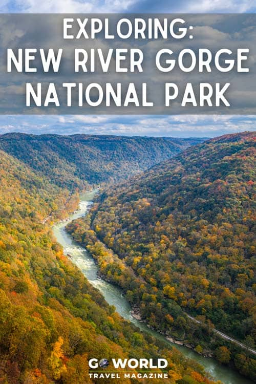Discover America's newest national park in West Virginia by exploring with Adventures on the Gorge