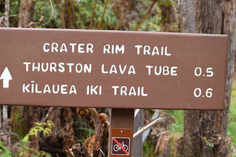 Hike to Crater Rim. Flickr /