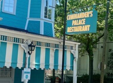 Commanders Palace, New Orleans Louisiana