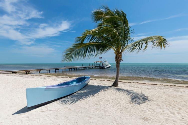 Enjoy the beaches along the keys
