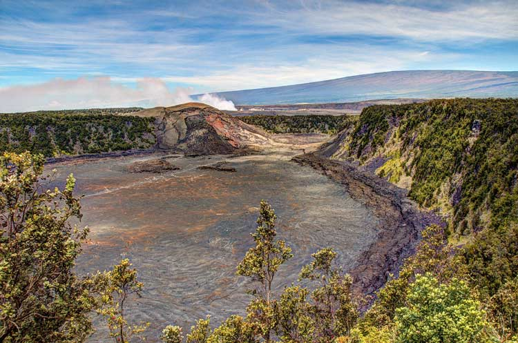 Part of the crater chain