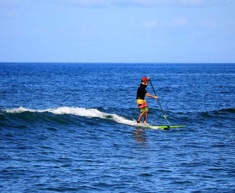 Stand up paddle boarding in Maui