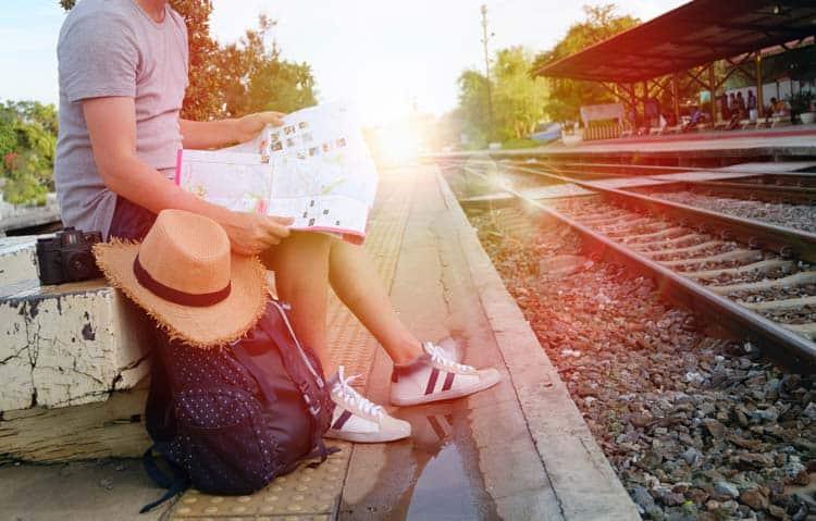 Pack light and write where ever you go