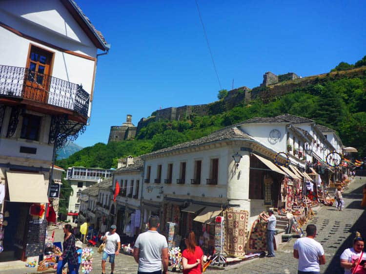 Gjirokastra is a top place to visit in Albania