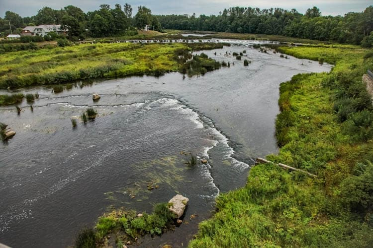 Baltic Trail Venta Rapid Waterfall