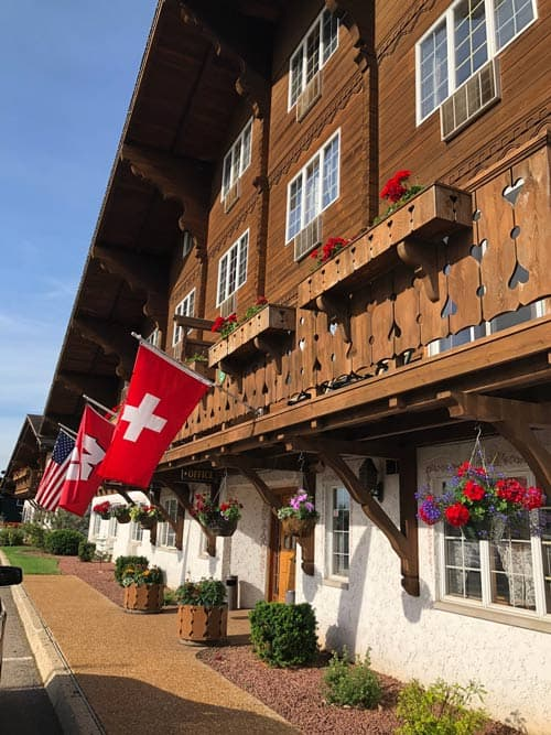 An ethnic enclave in New Glarus, Wisconsin, home to a Swiss chalet. Photo by New Glarus Chamber of Commerce