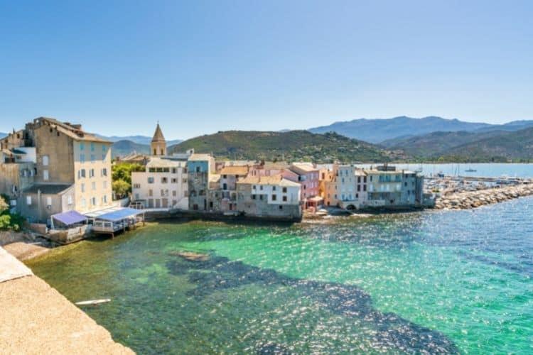 Corsica wine region in France