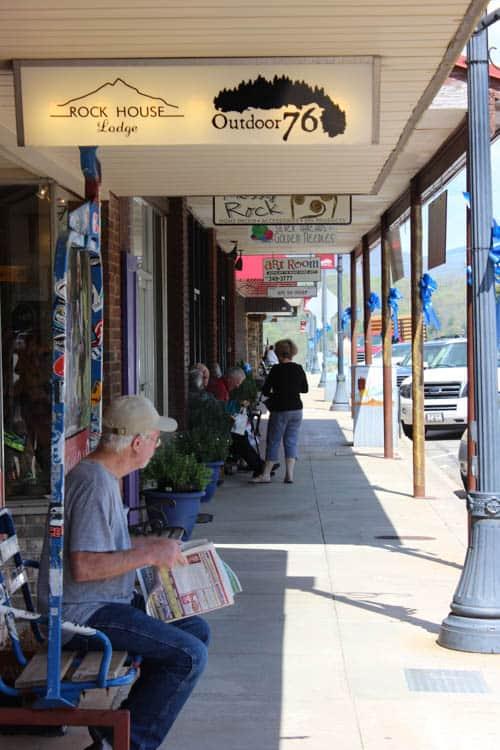 Franklin NC Main Street