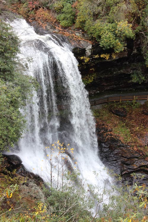 Things to do in Franklin, NC: Visit the falls