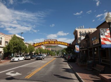 Golden Colorado Getaway from Canva