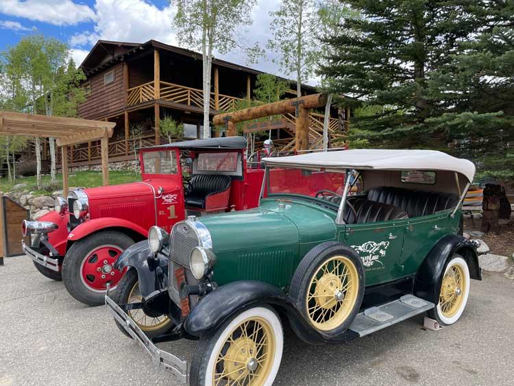 The historic Grand Lake Lodge in Grand Lake, Colorado. Photo by Janna Graber