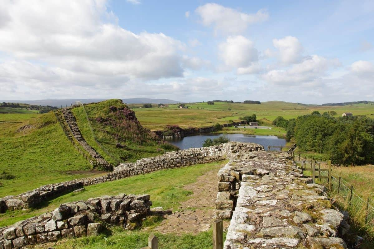 Walking Hadrian's Wall: Roaming With the Romans