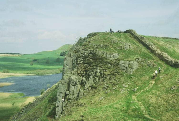 Walking Hadrian's Wall in England